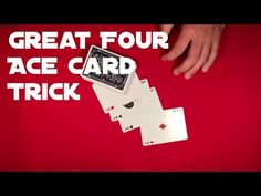 This four Ace card trick is soo easy!) It is perfect for all beginners so lets go ahead and learn it right now! Card Tricks For Beginners, Easy Card Tricks, Ace Card, Playing Cards, Magic, Learning, Simple, Playing Card Games, Studying