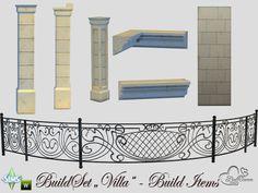 Lana CC Finds - Build-A-Villa Build Items by BuffSumm