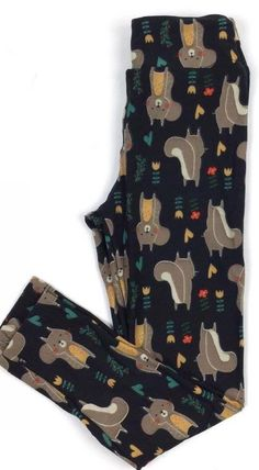 lularoe leggings squirrels unicorn print need in os and tc