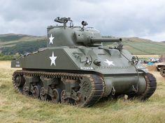 Sherman Tank   by Mark Butcher