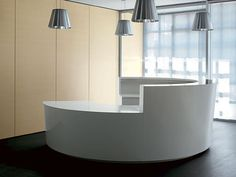 Picture of Cigno reception counter, office modular system