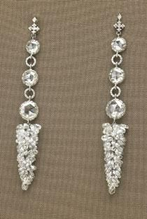 Michelle Obama's 2009 Inaugural Ball Earrings - plus gown, shoes, and bracelet!