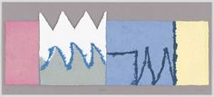 """Richard Tuttle. Nature. 2011. Wood engraving with paper pulp and pigmented paper. sheet (irreg.): 12 13/16 x 35 1/16"""" (32.5 x 89 cm); mount: 15 15/16 x 36"""" (40.5 x 91.5 cm). Universal Limited Art Editions, Bay Shore, NY. Universal Limited Art Editions, Bay Shore, NY. 10. Acquired through the generosity of Mary M. and Sash A. Spencer. 604.2013. © 2016 Richard Tuttle. Drawings and Prints"""