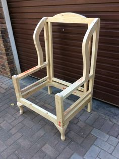 Frame for a Wingback chair