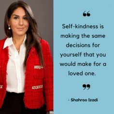 Self-kindness with Shahroo Izadi Bad Food, Hypnotherapy, All Or Nothing, Self Help, Feel Better, Things To Think About, Anxiety, Advice, Weight Loss