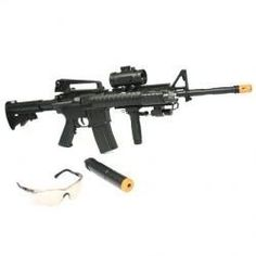 Full Scale M-16 style air soft assault rifle FULLY AUTOMATIC