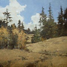 "2013, Autumn Passage by Joseph Alleman Oil ~ 24"" x 24"""