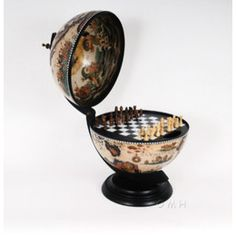 Globe Chess Set