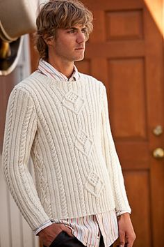 Ravelry: Point Gammon Pullover pattern by Elinor Brown Interweave Knits, Fall 2010