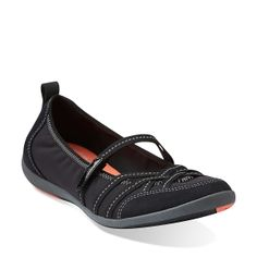Illite Jane in Black - Womens Shoes from Clarks