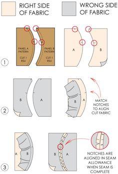 Fundamentals of Pattern Making: Pattern Notches