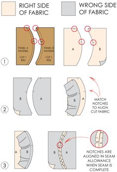 Fundamentals of Pattern Making: Pattern Notches