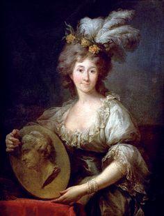 1780s - Anna Charlotte Dorothea von Medem by Marcello Bacciarelli