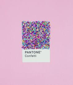 Pantone Confetti - best pantone ever!