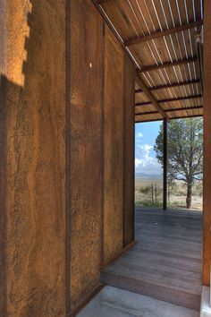 Gallery of Marfa weeHouse / Alchemy Architects + Geoffrey Warner + AIA - 8 Micro House, Tiny House, Steel Siding, Tuff Shed, Corrugated Tin, Metal Shed, Modern Prefab Homes, Desert Homes, Small House Design