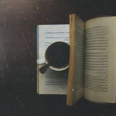 enjoy a good coffee with a better book