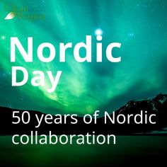 Join the Nordic Day celebration today at Clubhouse. 3 PM CET - 6 AM PST 3 Pm, Best Places To Live, Your Story, Social Networks, Collaboration, 50th, Celebration, Join, Memories