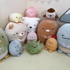 ˚₊· ͟͟͞͞➳❥seokjin ‧₊˚ Cute Stuffed Animals, Dinosaur Stuffed Animal, Softies, Plushies, Cute Plush, Plush Animals, Sock Animals, Clay Animals, Rilakkuma