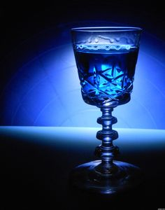blue glass cup #bluedream #niebieski #wine