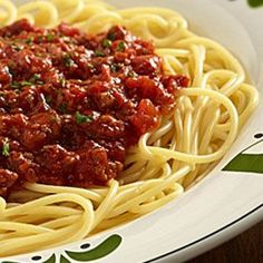 Olive Garden Meat Sauce This sauce is so good and super simple. I doubled and used a pound of italian sausage. -mp