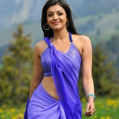 South Indian , Bollywood Actress and Models: Kajal Agarwal Sexy Navel Violet Saree Latest Unseen Photoshoot Hot Actresses, Indian Actresses, Kajal Agarwal Saree, Saree Navel, Blue Saree, Indian Models, South Indian Actress, Facon, India Beauty