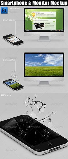 Smartphone & Monitor Mockup