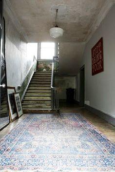 ATELIER RUE VERTE , le blog: Une vieille maison londonienne