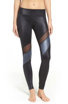 Beyond Yoga Glossy Waves Leggings