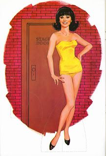Marlo Thomas as Anne Marie | That Girl (September 8, 1966 - March 19, 1971) | Illustration