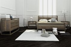 Huppé is a Quebec company. We design and manufacture innovative modern and contemporary furniture, focusing on bedroom, home office furniture and entertainment centers. Wood Bedroom Furniture, Large Furniture, Home Office Furniture, Contemporary Furniture, Furniture Sets, Furniture Design, Contemporary Barn, Wooden Platform Bed, Box Bedroom