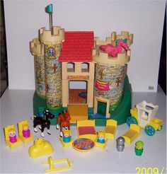 If you see one, buy one, I'll pay you back.: Vintage Fisher Price Toys