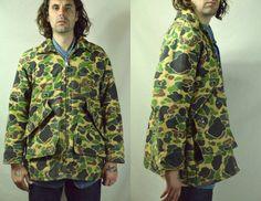 Vintage Frogskin Camouflage Chiller Killer by RoslynVTGTradingCo