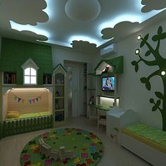 Childrens room in Kherson Kids Room Design childrens Kherson Room Baby Bedroom, Baby Boy Rooms, Baby Room Decor, Girls Bedroom, Bedrooms, Bedroom 2018, False Ceiling Design, Toddler Rooms, Childrens Rooms