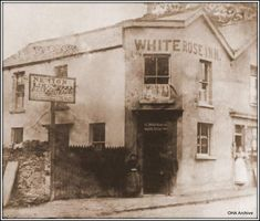 Photo-White Rose Inn, Mumbles-probably Richard & Mary Hobbs post Swansea Wales, Welsh Blanket, Cymru, Hobbs, South Wales, White Roses, Old Photos, Blankets, Mary