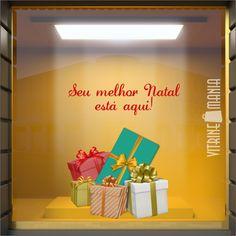 9204be777 Adesivos de vitrine de natal prontos para lojas de todos os segmentos