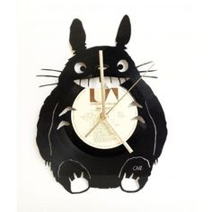 reloj disco de acetato - Buscar con Google Record Clock, Record Art, Totoro, Record Crafts, Studio Ghibli, Diy And Crafts, Lights, Creativity, Inspiration