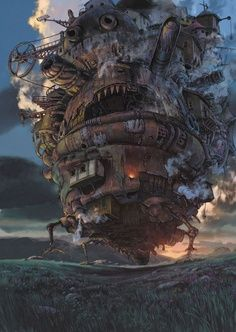 Howl's Moving Castle – Art | best stuff , this was generated by steam! Awesome anime!