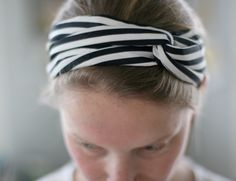 Need a bold hair accessory to take your 'do up a notch? Try this twisted turban headband.