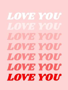 love you Art Print by typeangel Simple words, to say the p . - love you Art Print by typeangel Simple words, to say as often as possible. Bedroom Wall Collage, Photo Wall Collage, Picture Wall, Aesthetic Collage, Aesthetic Photo, Aesthetic Pictures, Red Aesthetic, Aesthetic Vintage, Aesthetic Grunge