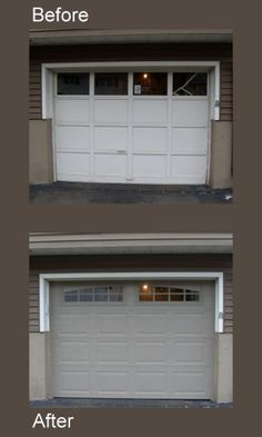 17 best garage door before after images on pinterest garage door garage door before after thermacore collection publicscrutiny Image collections