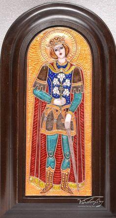 Kovács Erzsébet: Szent Imre herceg - Vándorfény Galéria Herceg, Porsche Logo, Logos, Art, Art Background, Logo, Kunst, Performing Arts, Art Education Resources