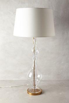 Hourglass Lamp Ensemble #anthropologie