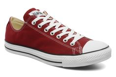 Converse sunset red