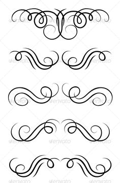 Swirl Elements and Retro Monograms #GraphicRiver Swirl elements and retro monograms for design and decorate. Editable EPS8 (you can use any vector program) and JPEG (can edit in any graphic editor) files are included. SPORTS MASCOTS MEDICINE FOOD LABELS WEDDING DESIGN ELEMENTS FLORAL OBJECTS WEB ICONS ANIMALS Created: 2February13 GraphicsFilesIncluded: JPGImage #VectorEPS Layered: Yes