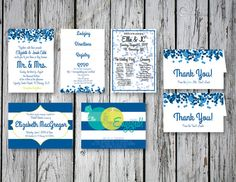 Bubbly Wedding Print Package / DIY Printing by RejoiceGraphics