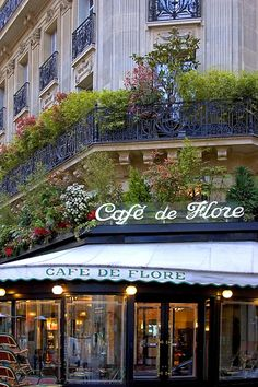 'Cafe de Flore' Left Bank - Paris