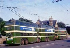Nottingham Trolleybuses - The Last Years Volkswagen Bus, Volkswagen Beetles, Vw Camper, Nottingham Road, City O, Routemaster, Old Commercials, Double Decker Bus, Bus Tickets
