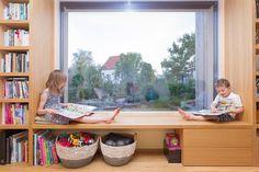 windowseat | triple glazing window | comfortable also during winter | passivehaus | #smartwin |