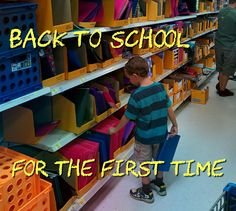 Back to School for the First Time