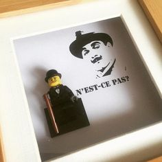 Poirot Lego display frame                                                                                                                                                                                 More